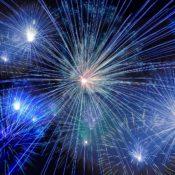 Fireworks via Pixabay (Public Domain)